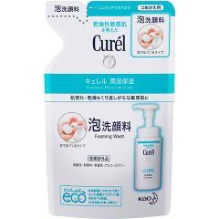 キュレル 泡洗顔料 つめかえ用(130mL)(発送可能時期:3-7日(通常))[洗顔 その他]