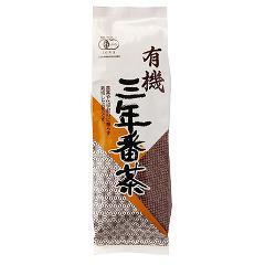 創健社 播磨園 有機三年番茶(180g)(発送可能時期:1週間-10日(通常))[緑茶]