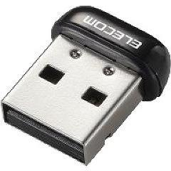 エレコム 150Mbps USB無線超小型LANアダプタ WDC-150SU2MBK(1コ入)(発送可能時期:3-7日(通常))[OA商品]