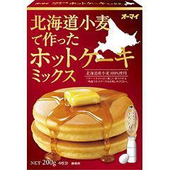 オーマイ 北海道小麦で作ったホットケーキミックス(200g)(発送可能時期:1週間-10日(通常))[粉類その他]