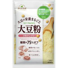 ダイズラボ 大豆粉(200g)(発送可能時期:1週間-10日(通常))[粉類その他]