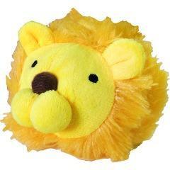 まんまるズーズー ライオン(1コ入)(発送可能時期:3-7日(通常))[犬のおもちゃ・しつけ]