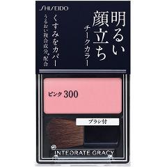 資生堂 インテグレート グレイシィ チークカラー ピンク300(2g)(発送可能時期:3-7日(通常))[チーク]