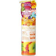 DETクリア ブライト&ピール ピーリングジェリー ミックスフルーツの香り(180mL)(発送可能時期:3-7日(通常))[ピーリング・角栓ケア]