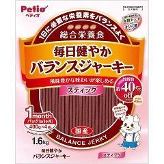 ペティオ 毎日健やかバランスジャーキー スティック(1.6kg)(発送可能時期:3-7日(通常))[犬のおやつ・サプリメント]