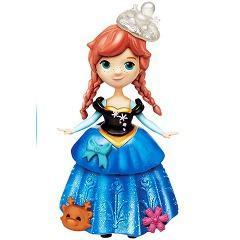 ディズニー アナと雪の女王 リトルキングダム キラキラドレス アナ(1コ入)(発送可能時期:3-7日(通常))[人形]
