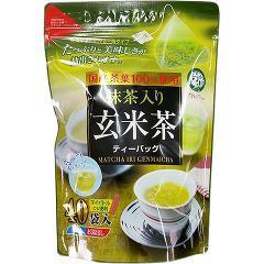 宇治森徳かおりちゃん 抹茶入玄米茶ティーパック(2g*40袋入)(発送可能時期:1週間-10日(通常))[玄米茶]
