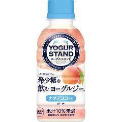 ミニッツメイド ヨーグルスタンド 希少糖の飲むヨーグルジー ピーチ(190mL*30本入)(発送可能時期:3-7日(通常))[乳酸菌飲料]