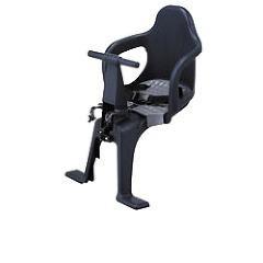 自転車用チャイルドシート 前用 子供乗せ 2点式ベルト FBC-003S2 ブラック(1台)(発送可能時期:1-3日(通常))[チャイルドシート]