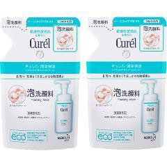 キュレル 泡洗顔料 つめかえ用(130mL*2コセット)(発送可能時期:3-7日(通常))[洗顔 その他]
