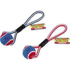ペティオ 愛情教育玩具 テニスロープ(Mサイズ)(発送可能時期:3-7日(通常))[犬のおもちゃ・しつけ]