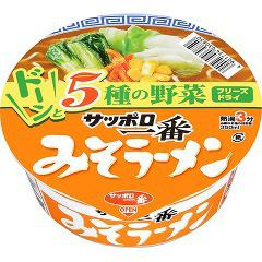 サッポロ一番 みそラーメンどんぶり(1コ入)(発送可能時期:3-7日(通常))[カップ麺]