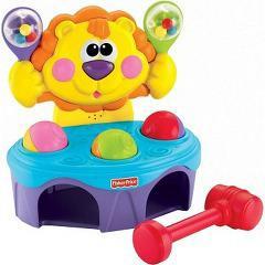 フィッシャープライス リズムでとんとん!ライオン P8792(1)(発送可能時期:1週間-10日(通常))[ベビー玩具・赤ちゃんおもちゃ その他]