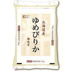 【タイムセール】平成28年度産 無洗米 北海道産ゆめぴりか(5kg)