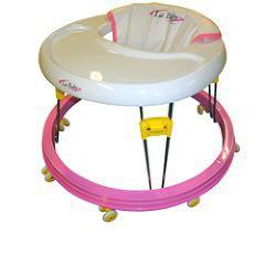 ラ ベビーウォーカー 歩行器 ピンク(1台)(発送可能時期:1-3日(通常))[ベビーチェア]