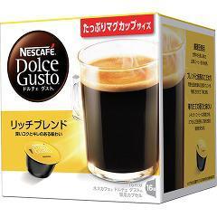 ネスカフェ ドルチェグスト カートリッジ モーニングブレンド 16杯分 ARM16001(1セット)(発送可能時期:3-7日(通常))[コーヒー]