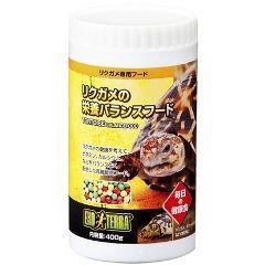 エキゾテラ リクガメの栄養バランスフード(400g)(発送可能時期:3-7日(通常))[は虫類]