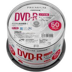 ハイディスク プレミアムハイディスク 録画用DVD-R 16倍速 HDSDR12JCP50(50枚入)(発送可能時期:3-7日(通常))[DVDメディア]