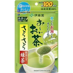お〜いお茶 さらさら緑茶(80g)(発送可能時期:1週間-10日(通常))[緑茶]