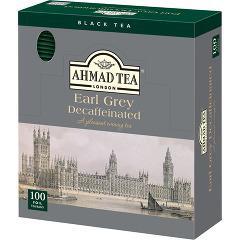 【訳あり】アーマッド デカフェ アールグレイ(100包)(発送可能時期:3-7日(通常))[紅茶のティーバッグ・茶葉(フレーバー)]