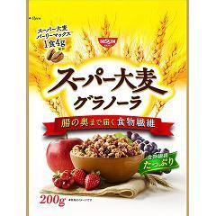 日清シスコ スーパー大麦グラノーラ(200g*2コセット)(発送可能時期:3-7日(通常))[シリアル]