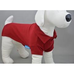 スタンダードポロシャツ 5 バーガンディ(1枚入)(発送可能時期:1週間-10日(通常))[犬の洋服]