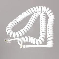 テレホン受話器コード 3m 白 TP603W(1コ入)(発送可能時期:3-7日(通常))[情報家電 その他]
