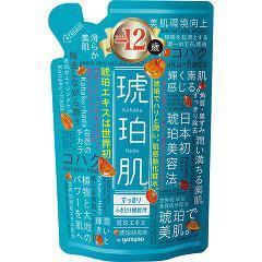 琥珀肌 化粧水 すっきり 詰替用(200mL)(発送可能時期:3-7日(通常))[拭き取りタイプ化粧水]