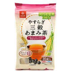 やすらぎ三穀あまみ茶(160g(20袋入))(発送可能時期:1週間-10日(通常))[麦茶]