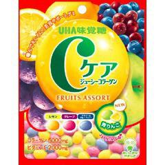 Cケア フルーツアソート(60g)(発送可能時期:1週間-10日(通常))[グミ]