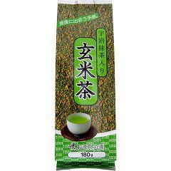 宇治抹茶入り玄米茶(180g)(発送可能時期:1週間-10日(通常))[玄米茶]