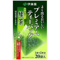 プレミアムティーバッグ 抹茶入り緑茶(1.8g*20袋入)(発送可能時期:1週間-10日(通常))[緑茶]