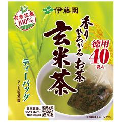 伊藤園 香りひろがる玄米茶 ティーバック(40袋入)(発送可能時期:1週間-10日(通常))[玄米茶]