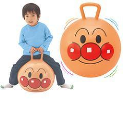遊んで体幹トレーニング ポップンボール アンパンマン(1コ入)(発送可能時期:1-3日(通常))[ベビー玩具・赤ちゃんおもちゃ その他]