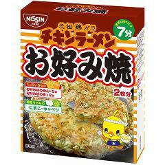 日清チキンラーメン お好み焼(2枚分)(発送可能時期:3-7日(通常))[粉類その他]