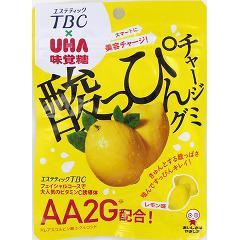 酸っぴんチャージグミ レモン味(46g)(発送可能時期:1週間-10日(通常))[グミ]