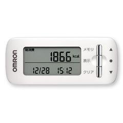オムロン 活動量計 カロリスキャン ホワイト HJA-306-W(1台)(発送可能時期:3-7日(通常))[歩数計]