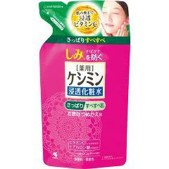 ケシミン液 さっぱりタイプ つめかえ用(140mL)(発送可能時期:3-7日(通常))[化粧水 さっぱり]