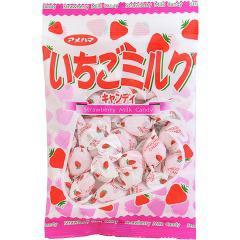 Vいちごミルクキャンディ(95g)(発送可能時期:1週間-10日(通常))[飴(あめ)]