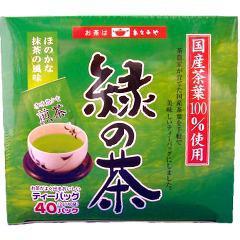 緑の茶ティーバッグ 箱タイプ(2g*40袋入)(発送可能時期:3-7日(通常))[緑茶]