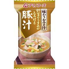 アマノフーズ 味わうおみそ汁 豚汁(15.0g*1食入)(発送可能時期:3-7日(通常))[インスタント味噌汁・吸物]