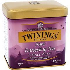 【訳あり】トワイニング ダージリン 缶(100g)(発送可能時期:1-3日(通常))[紅茶のティーバッグ・茶葉(ストレート)]