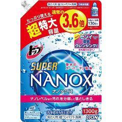 トップ スーパー ナノックス 詰替 超特大(1.3kg)(発送可能時期:3-7日(通常))[つめかえ用洗濯洗剤(液体)]