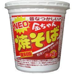 NEO金ちゃん焼そば 復刻版(1コ入)(発送可能時期:3-7日(通常))[カップ麺]