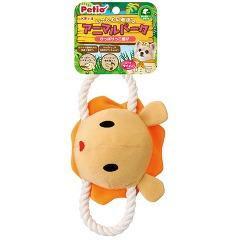 ペティオ アニマルパーク ロープライオン(1コ入)(発送可能時期:3-7日(通常))[犬のおもちゃ・しつけ]