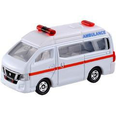 トミカ 箱018 日産 NV350 キャラバン 救急車(1コ入)(発送可能時期:3-7日(通常))[電車・ミニカー]