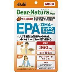 ディアナチュラスタイル EPA*DHA+ナットウキナーゼ 60日分(240粒)(発送可能時期:3-7日(通常))[DHA EPA]