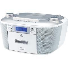 サウンドルック CDステレオラジカセ シルバー SAD-4935/S(1台)(発送可能時期:3-7日(通常))[CDメディア]