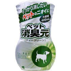 消臭元 ペット用 ティーグリーン(400mL)(発送可能時期:3-7日(通常))[部屋用置き型 消臭・芳香剤]