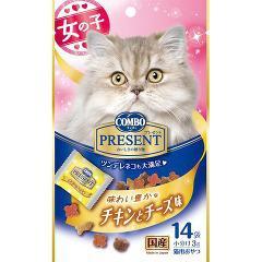 コンボ プレゼント キャット 味わい豊かなチキンとチーズ味(3g*14袋入)(発送可能時期:3-7日(通常))[猫のおやつ・サプリメント]